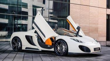 Gemballa GT Spider: tuned McLaren 12C doors up