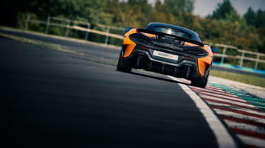 McLaren 600LT first drive - rear