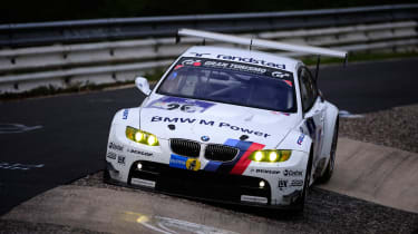 BMW M3 GT2 racing car