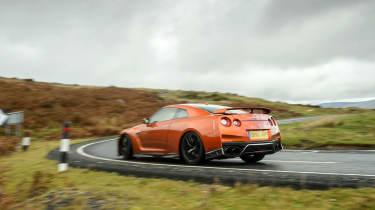 Nissan GT–R rear quarter