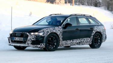 Audi A6 Allroad 2019 spied quarter