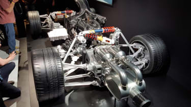 Mercedes-AMG Project One - powertrain