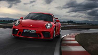 Porsche 911 GT3 manual - front cornering