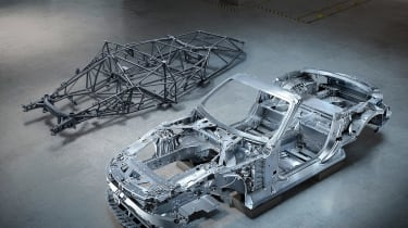 Mercedes SL structure 2