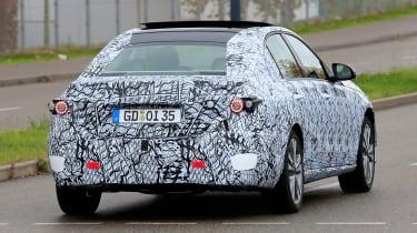 Mercedes C-class prototype - rear