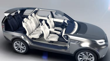 Land Rover Discovery Vision concept revealed