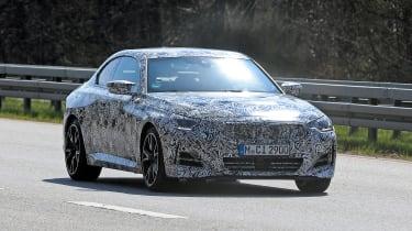 2021 BMW 2-series set 2 spy – front quarter