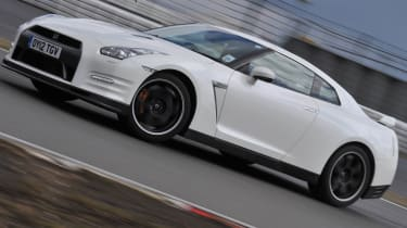 Nissan GT-R Track Pack on the Nurburgring