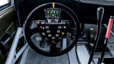 Audi A1 Quattro WRC2 rally car - interior