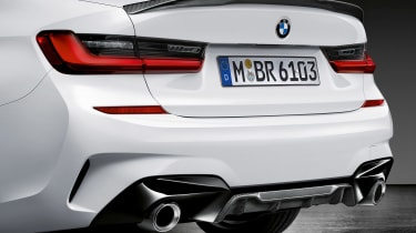 BMW 3-series G20 M Performance parts - rear bumper