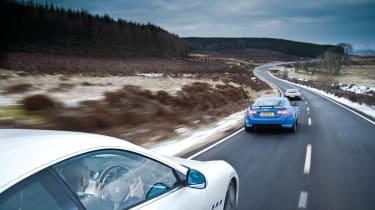 Maserati GranTurismo S vs Jaguar XKR-S vs Aston Vantage S