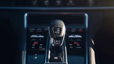 Porsche Panamera 4S Diesel - Gear lever