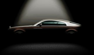 Rolls-Royce Wraith two-tone Ghost coupe
