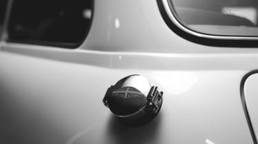 David Brown Automotive Mini Remastered fuel filler