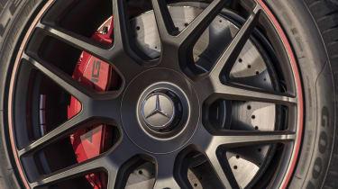 Mercedes-AMG G63 wheel detail