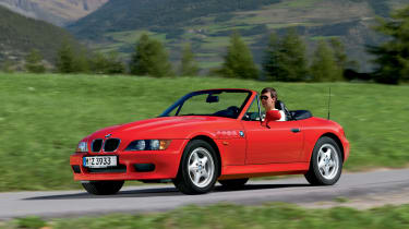 BMW Z3 red front