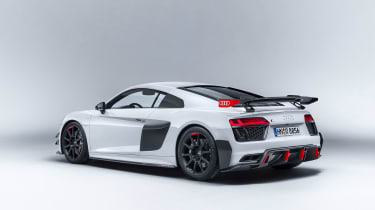 Audi performance parts - R8 rear three quarter
