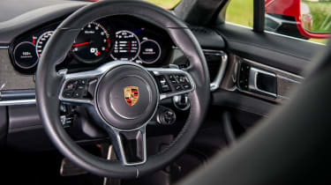Porsche Panamera Turbo - Steering wheel