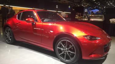 Mazda MX-5 RF Tokyo 2017 – front quarter