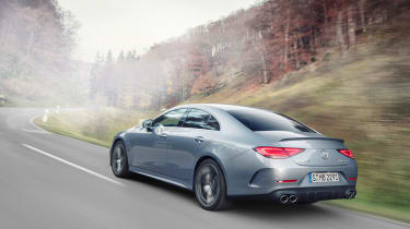 2021 Mercedes CLS53 – rear tracking 2