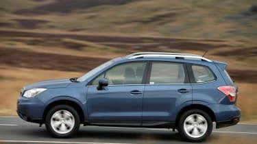 Subaru Forester diesel side profile
