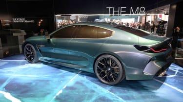 BMW M8 Concept - show profile