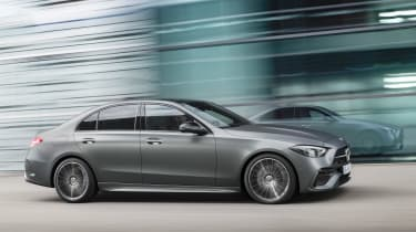 2021 Mercedes C-class revealed - profile