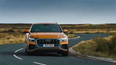 Audi Q8 Vorsprung – front