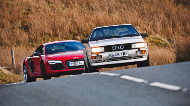 4x4 Wales test - Audi heritage