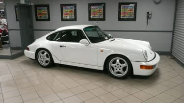 Porsche 911 964 RS Lightweight - side profile