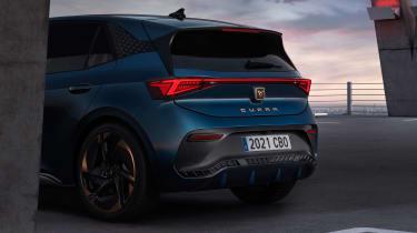 Cupra Born reveal – rear lights