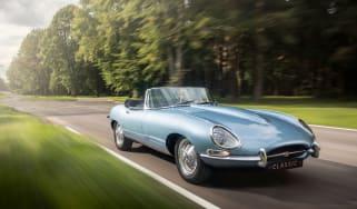 Jaguar E-type Zero front