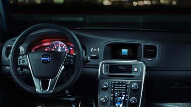 Volvo V60 Polestar interior dashboard