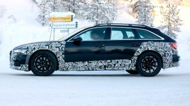Audi A6 Allroad 2019 spied - side