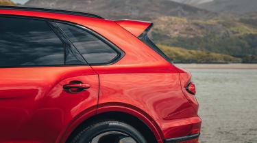 Bentley Bentayga S – rear quarter