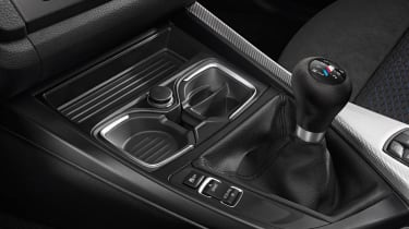 2012 BMW M135i six-speed manual gearbox