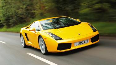 Lamborghini Gallardo - front tracking