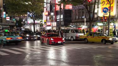 Porsche Cayman GTS Japan - Tokyo