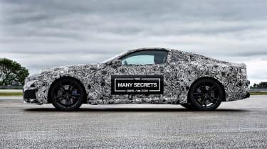 BMW M8 prototype - profile