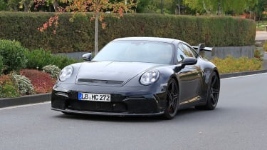 Next-generation Porsche 911 GT3 prototype - front