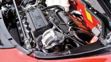 Honda NSX engine bay