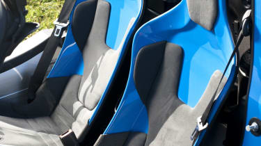 Lotus Elise S Club Racer lightweight seat