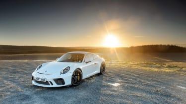Porsche 911 GT3 vs Lotus GT430 - GT3 static