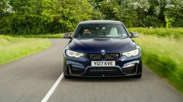 2018 model-year BMW M3 Competition Pack - Front