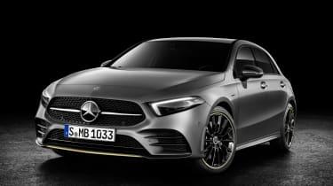 Mercedes-Benz A-class front three quarter studio