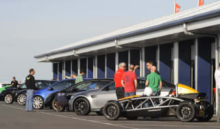 evo Dunlop Race Academy trackday