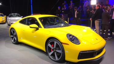 Porsche 911 live - front quarter