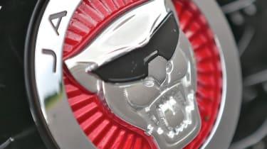 Jaguar F-type Project 7 badge growler sunglasses