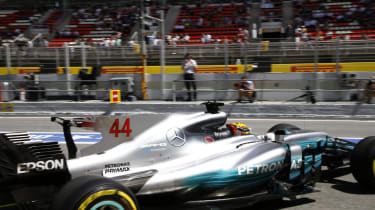 Spanish F1 - Mercedes-Petronas