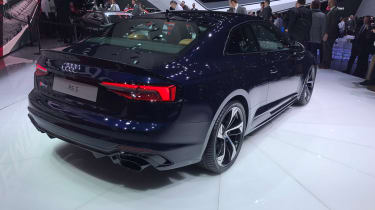 Audi RS5 - Geneva rear three quarter